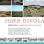 Divola Guest Artist Lecture Poster, detail