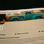 GM Performance Parts Engine Catalog, detail
