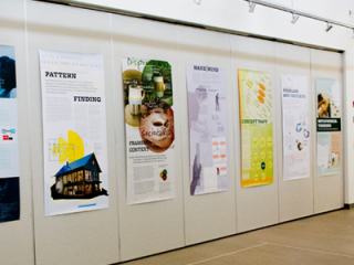 Metaphorical Thinking Poster and Design Thinking Exhibition