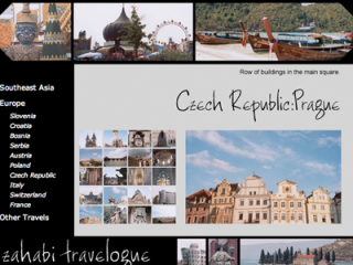 Zahabi Travelogue Website