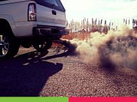 Truck exhaust